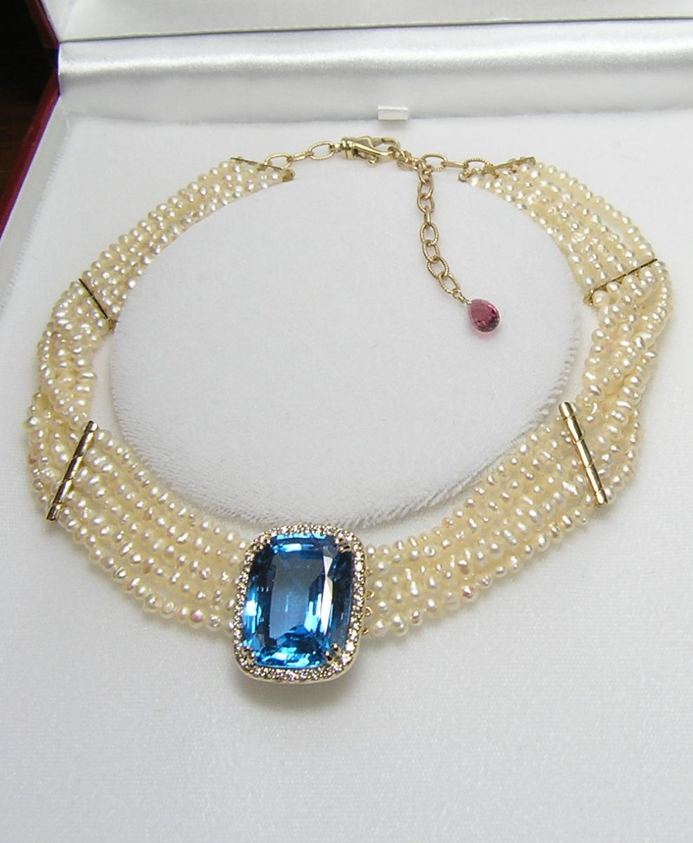 Necklace With A Pearl: Pearls, Your Jewelry Divas And How To Store Them