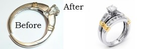 rhodium plating before and after