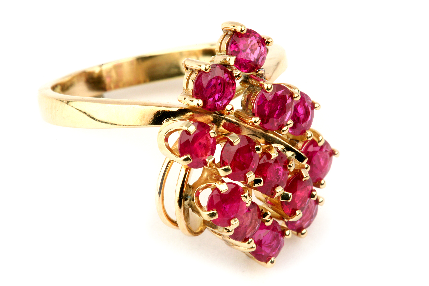 Horse Wedding Rings 69 Unique Multi round ruby with