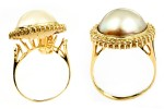 Mabe Pearl Ring Altered