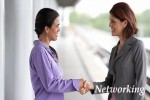 Two Women NETWORKING