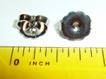 Earring Backings,Nice Big Ones, Called Monster Backs. 10mm in size.