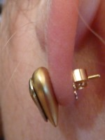 Ear Lobe Droop Are Your Earrings Pointing Toward The