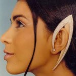 Spock Earrings by Raja Gondkar