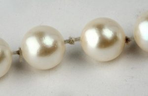 Stretched Out Pearl Necklace