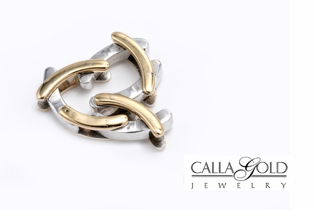 Two Tone Flexible Ring for Comfort