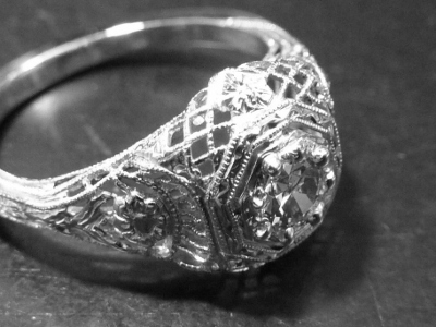 New Prongs on Antique Engagement Ring
