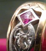 Antique Ring in Need of Milgrain