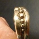 man's wedding ring