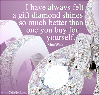 Mae West Jewelry Quote