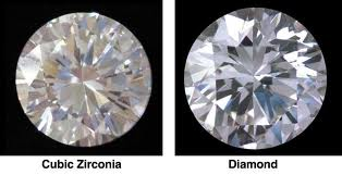 Pictures of CZ and Diamond