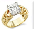 Calla Gold Jewelry designed ring