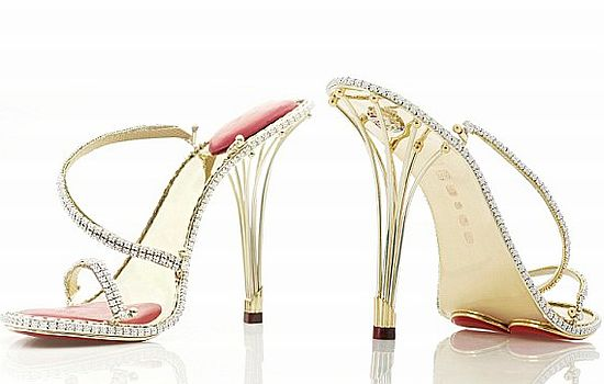 Borgezie diamond stiletto