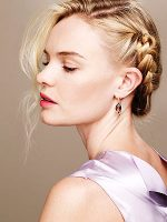 Amber Earrings and Kate Bosworth