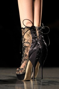 Gothic Shoe Porn from Dior