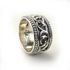 Scott Kay Wedding Ring, Gothic