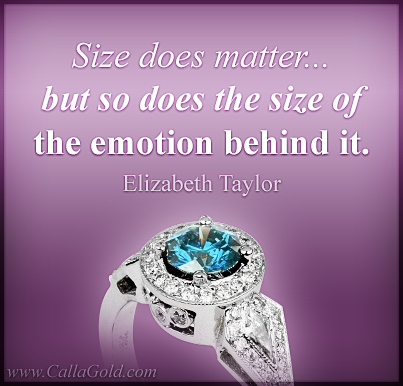 Elizabeth Taylor Diamonds Quote