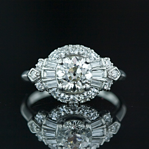 Swarovski Crystal Wedding Ring Set
