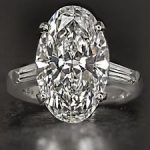 This Beautifully Cut Diamond Would Probably Sparkle in a Coal Mine!
