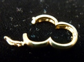Necklace Shortener in 14kt Yellow Gold, Figure Eight Style - Calla Gold Jewelry
