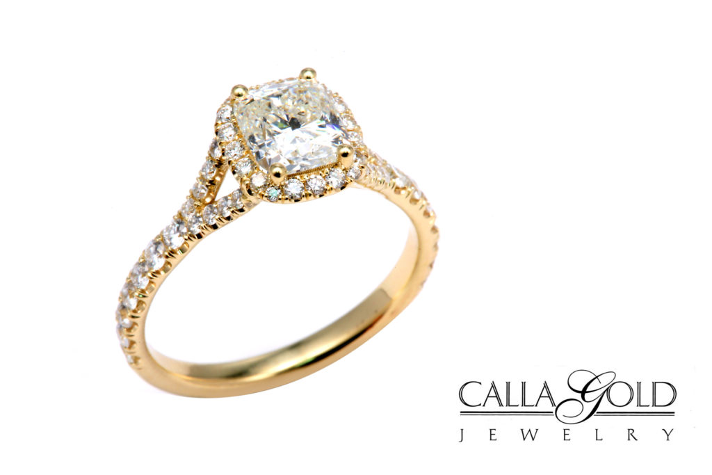 Captivating Calla Gold Jewelry