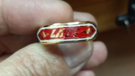 This Ring Was Sized and Completely Re-Enameled