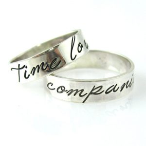 time lord companion wedding bands - Dr Who Wedding Ring