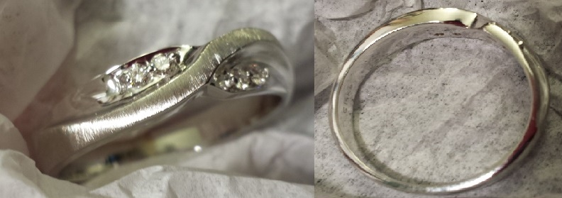 How Much to Size my Ring With Matte Finish and Oxidation