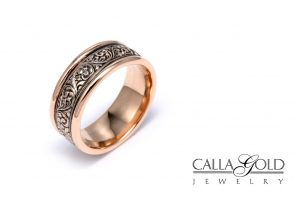 Rose-Gold-Engagement Ring