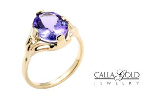Tanzanite-set-in-rose-gold