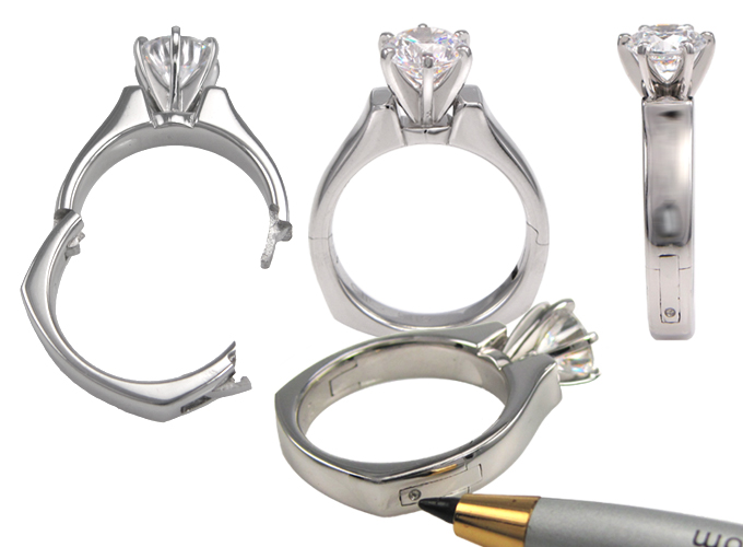 Hinging Ring Shank Jewelry Definition