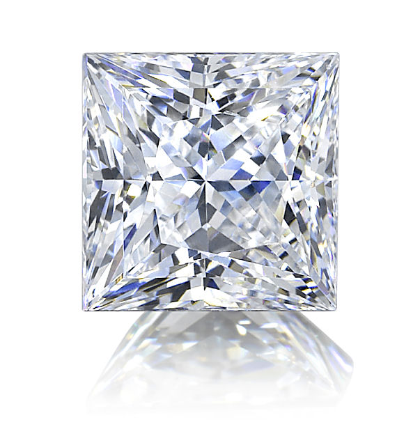 Diamond Shape vs Cut, Square Diamonds