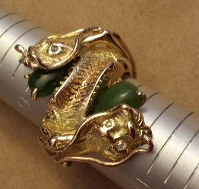 Extreme sizing of dragon ring