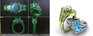 Ring CAD images of rings