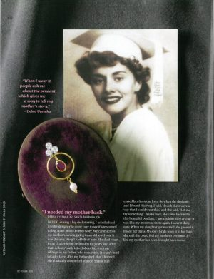 Dr. Oz, Inherited jewelry, Uyesaka, Calla Gold
