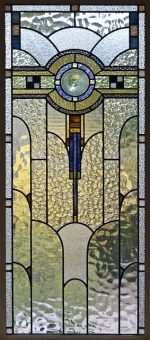 An Example of Art Deco Design. Notice the Similarity in Fitted Patterns Between the Ring and This Window.