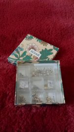 My Little Boxes I Organize my Earring Backings in.
