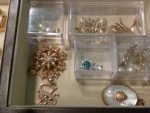 Pam's Pearl Earrings, Pendants and Pins Were Finally all in One Place.
