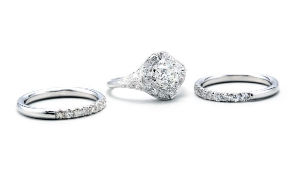 Three diamond rings made for one