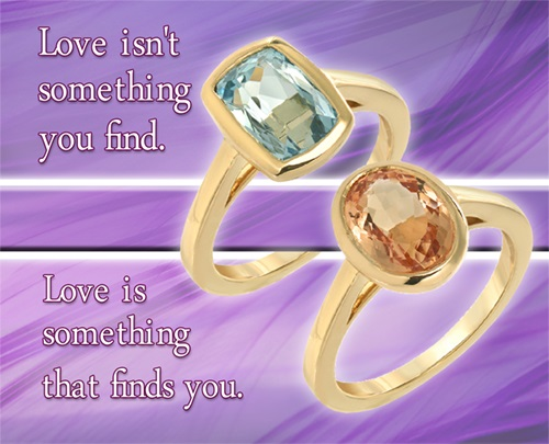 Gems of Wisdom Loretta Young quote Love isn't something you find. Love is something that finds you