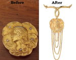 Before and After, Inherited Pendant