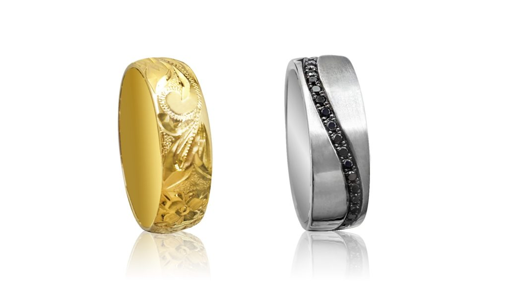 Two Men's Wedding Bands