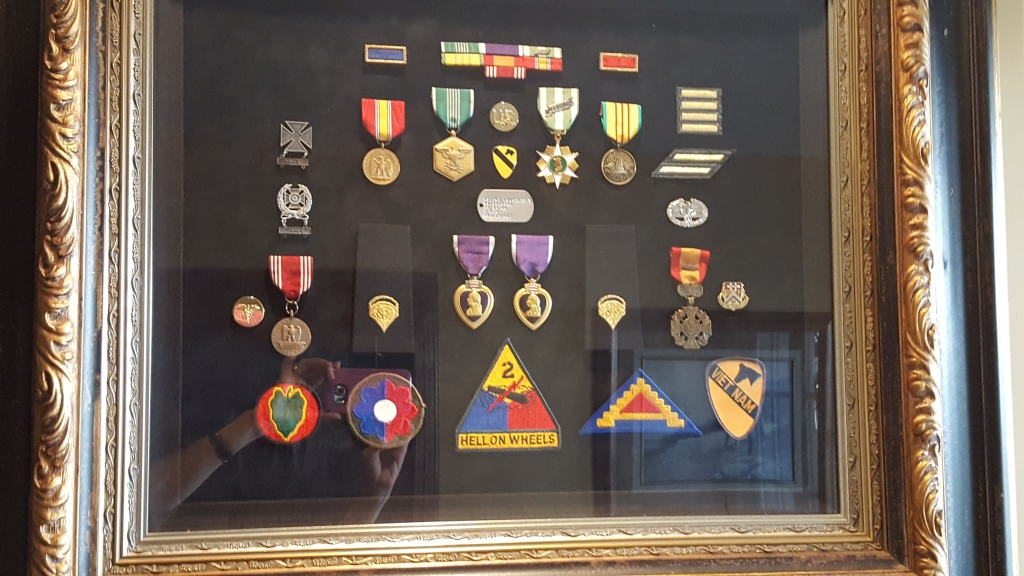 Purple Heart medals
