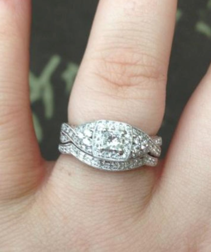 ella the blog to spend solitaire and average engagement of price diamond what an claw cost ring carat finger