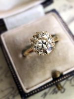 Antique diamond - Caysie van Bebber-Leslie
