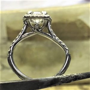 Bent engagement ring, ring buyer beware