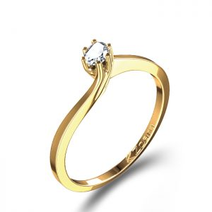 Six Prongs for tiny diamond CAD image of engagement ring setting    Yellow Gold Three Diamond Ring with Hand Engraving in Yellow Gold Three Ring Wedding Set in White Gold with Sapphires and Diamonds  Criss Cross Organic Leaflike prongs on Engagement ring