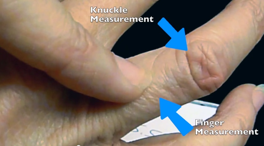 Knuckle to Finger differential diagram. How to figure it out