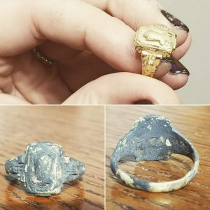 Incredible Transformation of a Burnt Ring