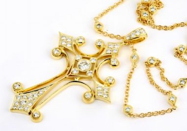 Diamonds in Cross and on Chain